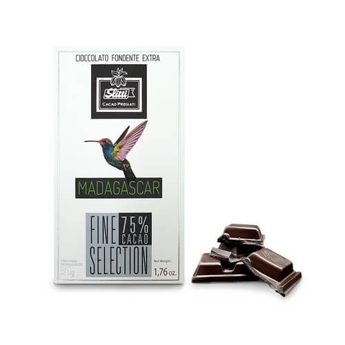 Tavoletta Fine Selection Madagascar 75% - 50g